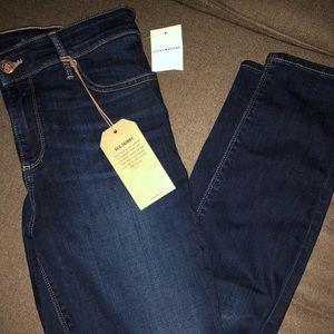 NWT - Lucky Brand Size 12 Ankle Dark Skinny Jeans